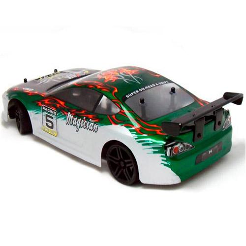 Профессиональная Машинка для Дрифта на радиоуправление HSP Magician Nissan Silvia (1:18, 30 км/ч, 23 см) - Изображение