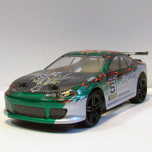 Профессиональная Машинка для Дрифта на радиоуправление HSP Magician Nissan Silvia (1:18, 30 км/ч, 23 см) - Фото