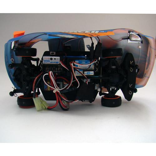 Радиоуправляемая Машина Дрифт 1:18 Huan Qi 718 (23 см, искры из под колес) - Фотография