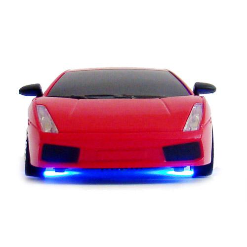 Красная Радиоуправляемая машинка для дрифта Lamborghini (1:24, 19 см)
