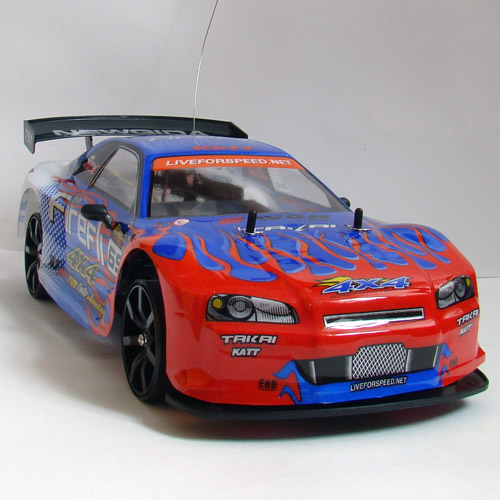 Машина Дрифт 1:10 Nissan Skyline (40 см.) - Фотография