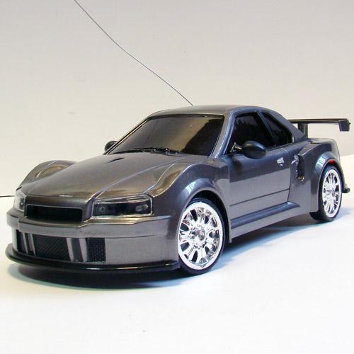 Радиоуправляемая Машина для Дрифта Nissan Skyline R34 (1:18, 23 см)