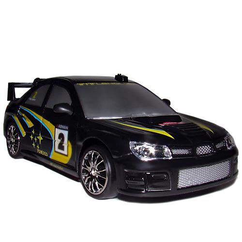 Черная Радиоуправляемая Машинка для Дрифта Subaru Impreza (1:24, 18 см)