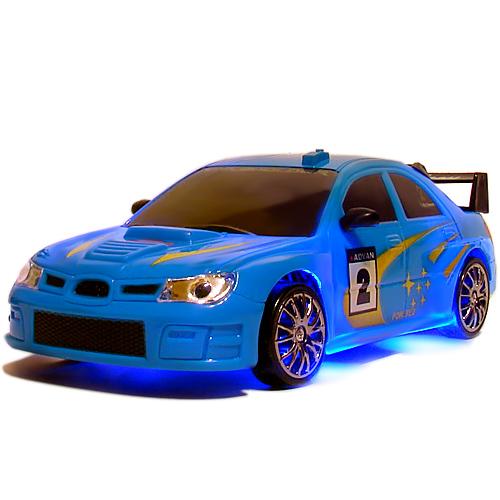 Синяя Радиоуправляемая Машинка для Дрифта Subaru Impreza (1:24, 18 см)