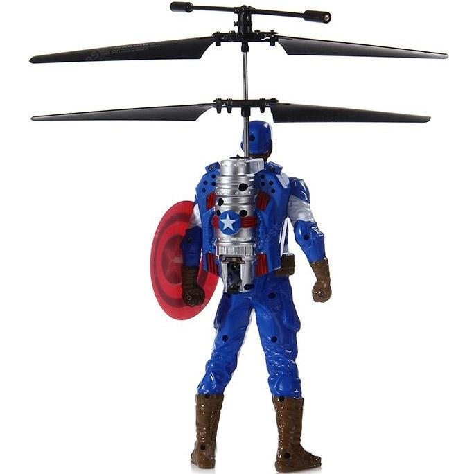 Летающий Капитан Америка (20 cм, управление от руки) - В интернет-магазине