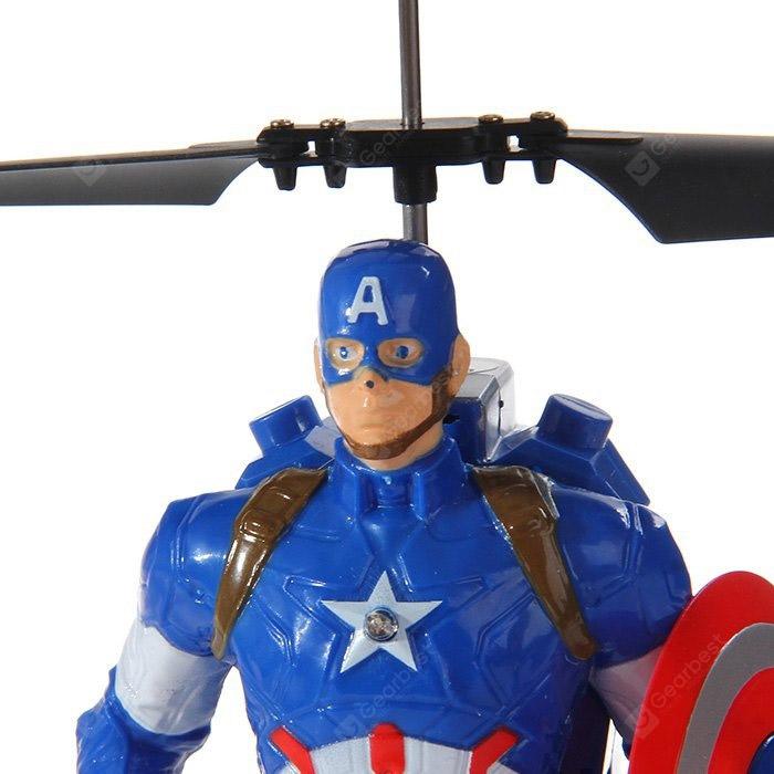Летающий Капитан Америка (20 cм, управление от руки) - Фотография