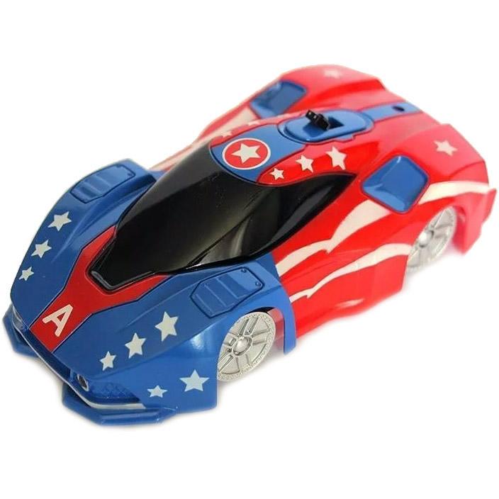 Радиоуправляемая Машина-стенолаз Капитан Америка (13 см.)