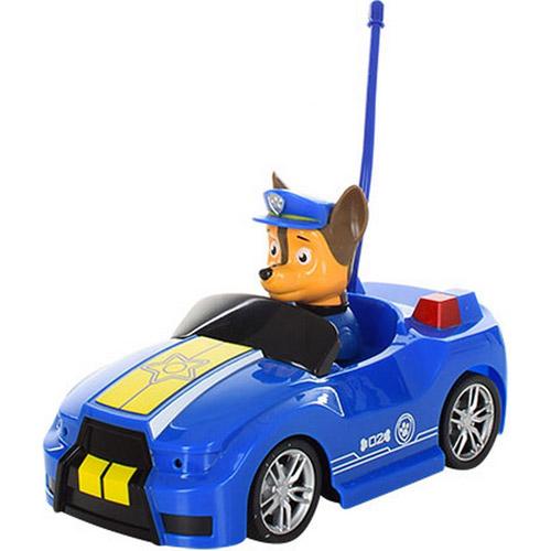 Синий Радиоуправляемый Щенячий патруль машинка (18 см.)