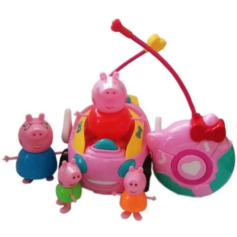 Радиоуправляемая Машинка Свинка Пеппа (14 см) - В интернет-магазине