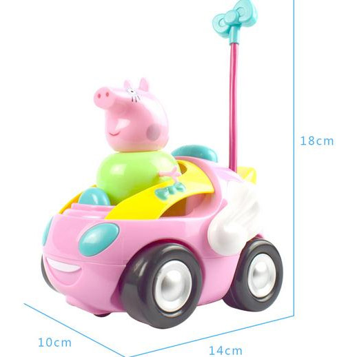 Радиоуправляемая Машинка Свинка Пеппа (14 см) - Фото