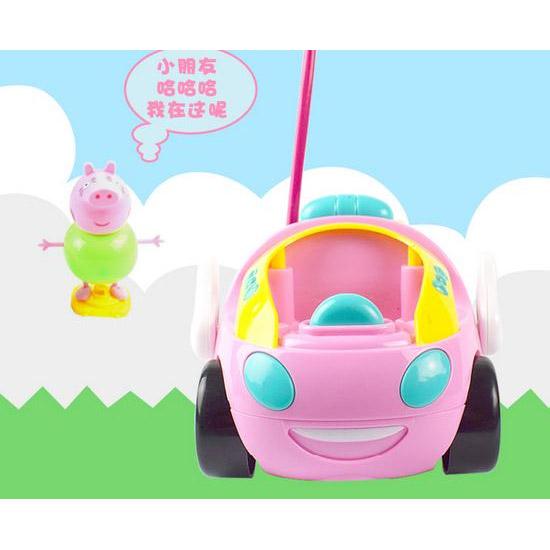 Радиоуправляемая Машинка Свинка Пеппа (14 см) - Фотография