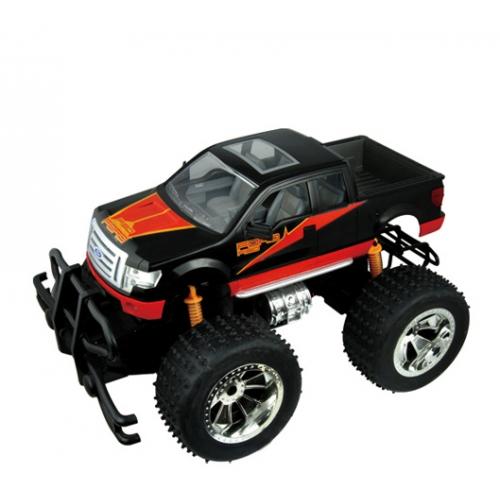 Черный Радиоуправляемый Джип Ford F150 XLT (1:18, 30 см.)