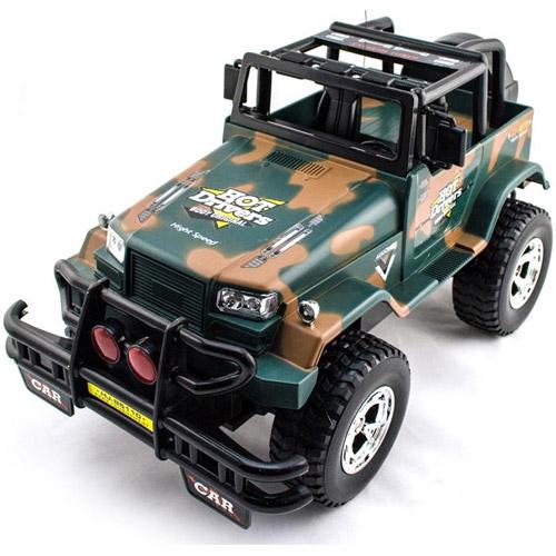 Большой Джип 1:10 Jeep открытый на радиоуправлении (40 см)