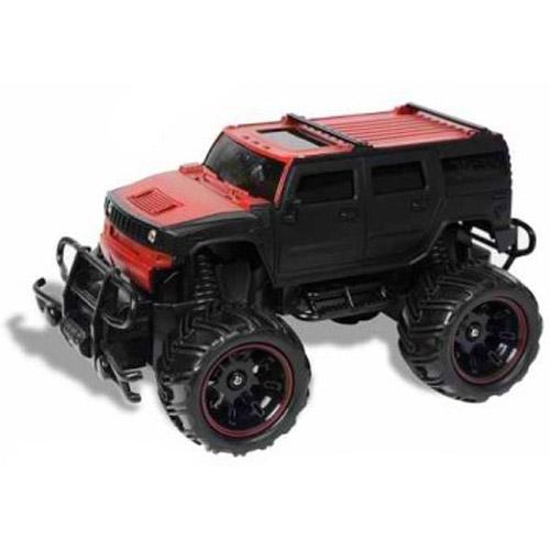 Черный Радиоуправляемый Джип 1:20 Hummer (20 см.)