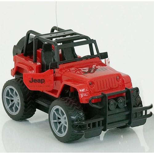 Красный Радиоуправляемый Внедорожник 1:24 Jeep (18 см., открываются двери)