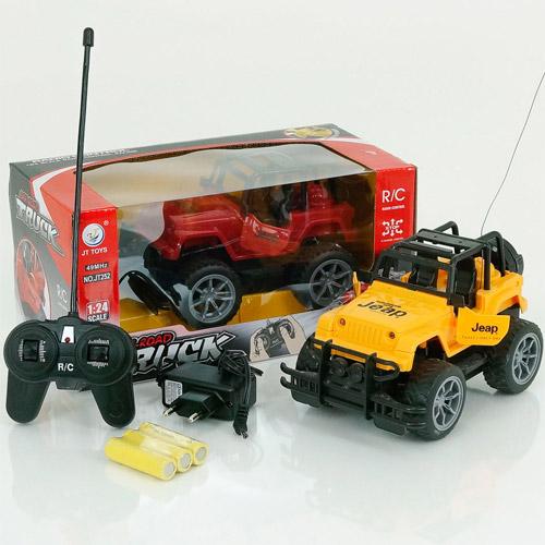 Радиоуправляемый Внедорожник 1:24 Jeep (18 см., открываются двери) - В интернет-магазине