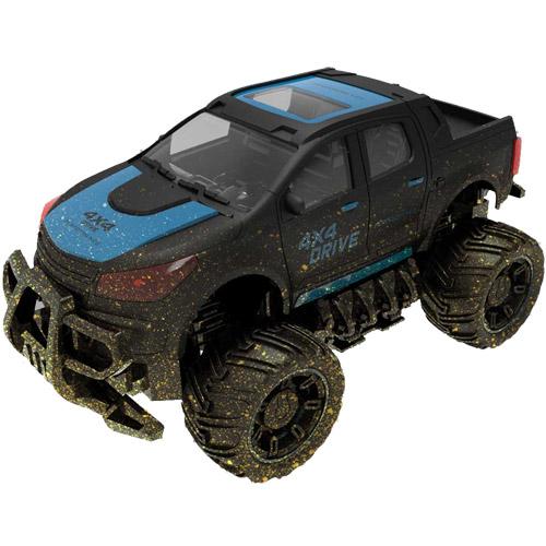 Синий грязный джип Радиоуправляемый Джип 1:18 Грязный (2.4 GHz, 22 см)