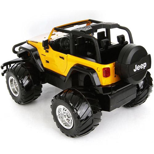 Радиоуправляемый Джип 1:16 Jeep Rubicon (открываются двери, 31 см.) - В интернет-магазине