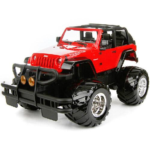 Радиоуправляемый Джип 1:16 Jeep Rubicon (открываются двери, 31 см.) - Фото