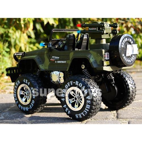 Большой радиоуправляемый Военный джип 1:10 Land Battles - В интернет-магазине