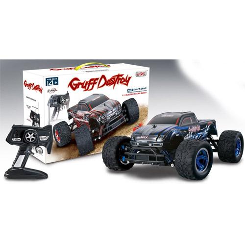 Радиоуправляемый Джип-монстр Gruff Destroy (1:12, 33 см, 20 км/ч, 4x4) - В интернет-магазине