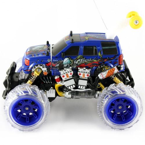 Радиоуправляемый джип-перевертыш Land Rover (26 см)