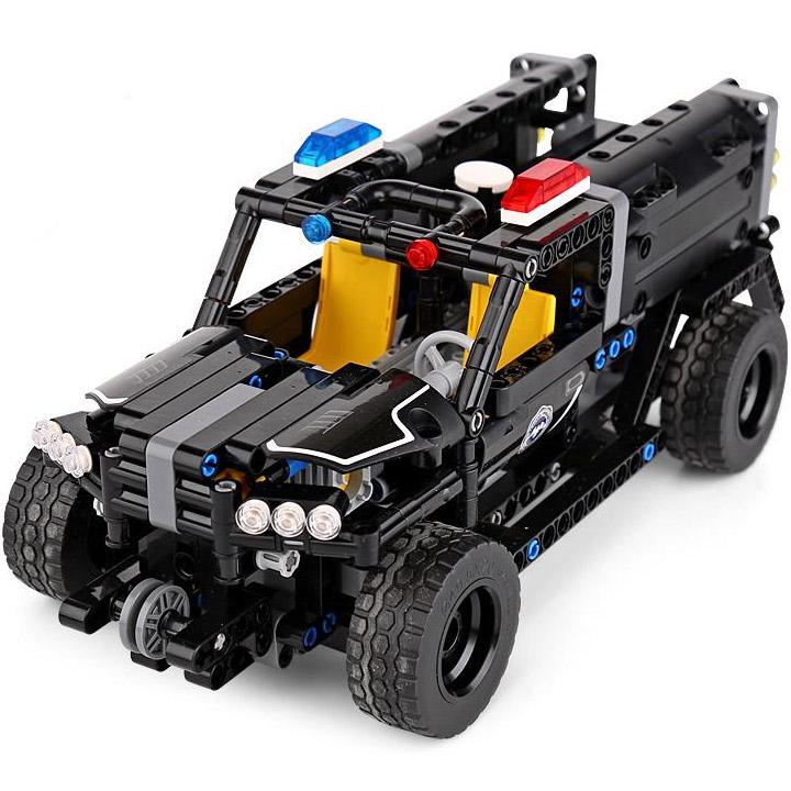 Радиоуправляемый Конструктор Полицейский Джип SWAT (431 деталей, 28 см.)