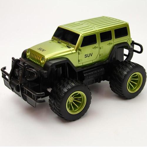 Светло-Зеленый Радиоуправляемый внедорожник Jeep (1:10, 38 см, 2.4Ghz)