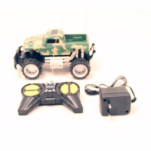 Радиоуправляемый джип 1:24 Военный Хаммер (17 см.)