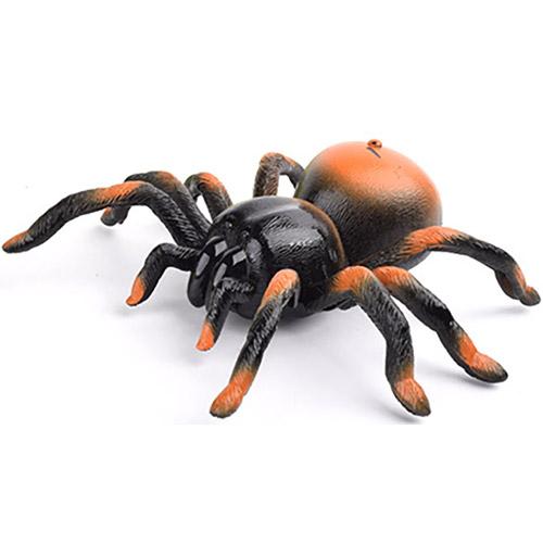 Темный Игрушка Маленький Радиоуправляемый паук тарантул (15 см.)