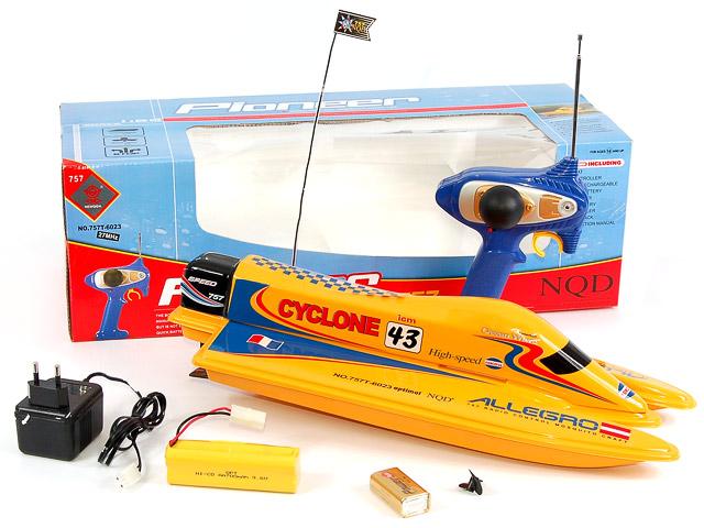 Радиоуправляемый Катер Cyclone - В интернет-магазине