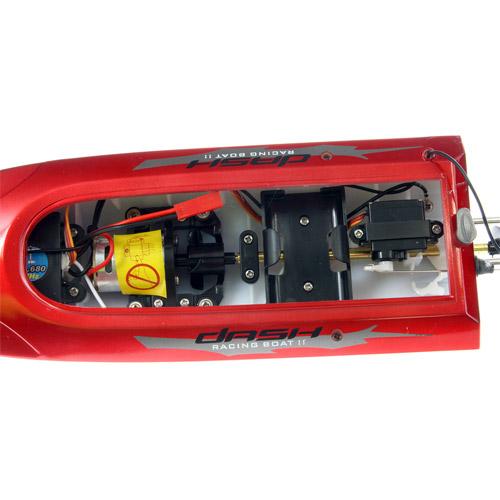 Радиоуправляемый Скоростной катер Red Mini K-Marine (35 см, 30 км/ч) - Изображение