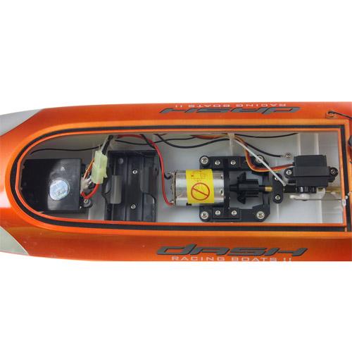 Скоростной катер Double Horse 7010 с пультом управления (45 см, 30 км/ч) - Изображение