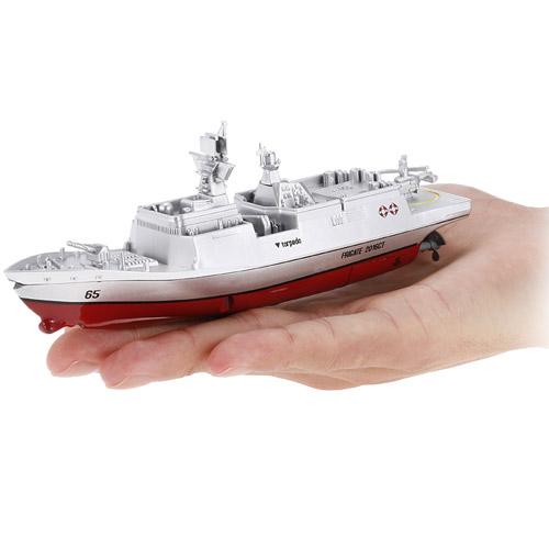 Радиоуправляемый Мини военный корабль Фрегат (16 см., 2.4Ghz)