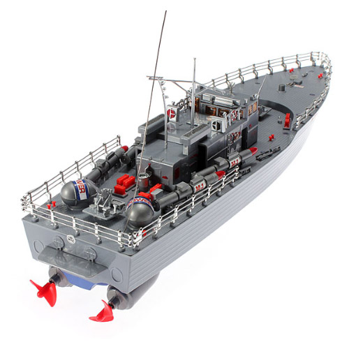 Радиоуправляемый Военный торпедный корабль Warship 2877F (49 см)