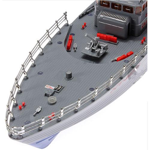 Радиоуправляемый Военный торпедный корабль Warship 2877F - Картинка