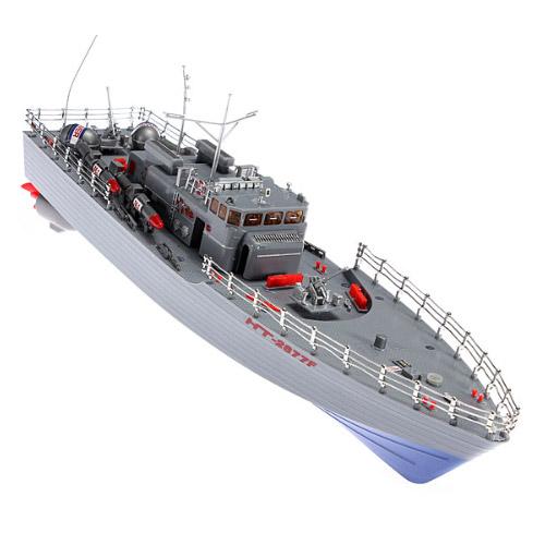 Радиоуправляемый Военный торпедный корабль Warship 2877F