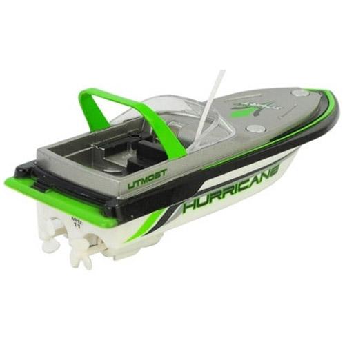 Зеленый Мини-катер на радиоуправление MINI BOAT