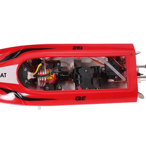 Маленький Скоростной катер на радиоуправление Syma Q2 Genius (36 см, 20 км/ч, 2.4Ghz) - Фото
