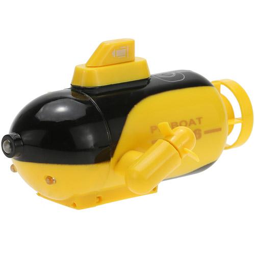 Желтая Радиоуправляемая Мини-Подводная Лодка U-16 (10 см.)