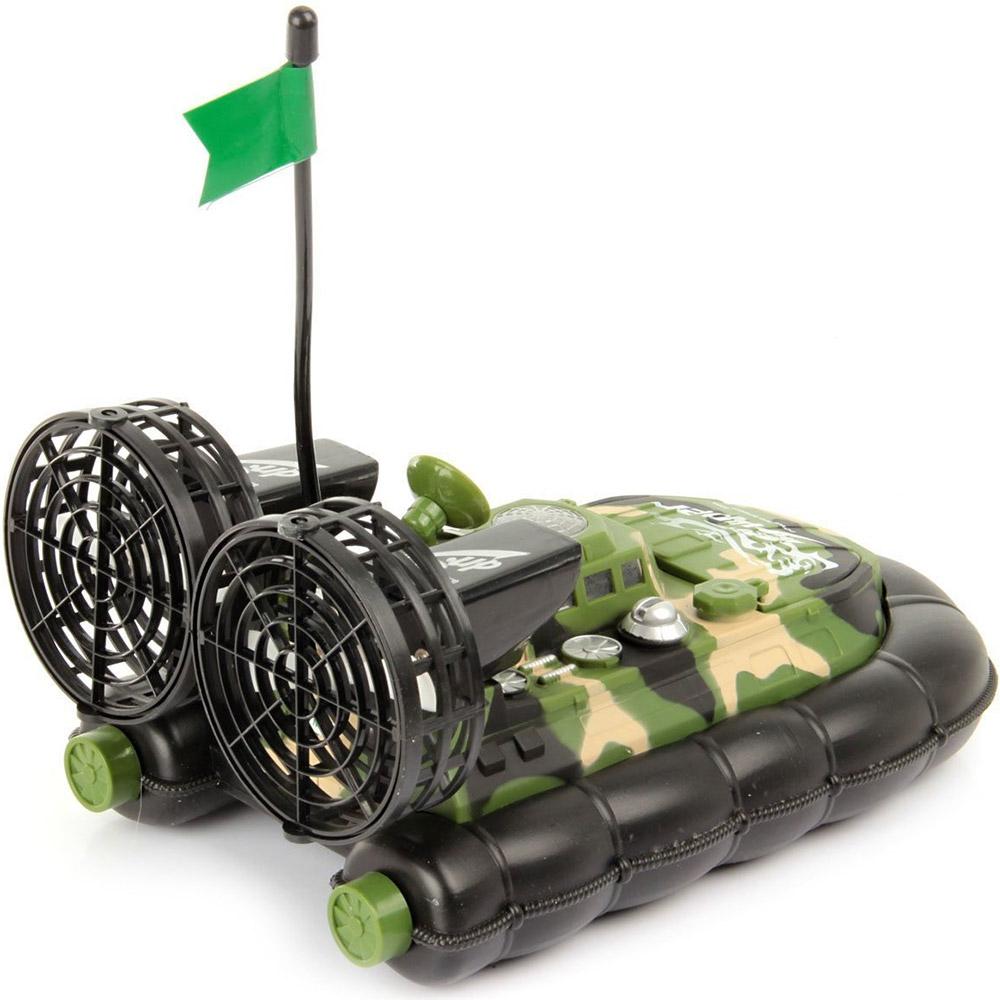 Радиоуправляемый военный катер на воздушной подушке (38 см.) - В интернет-магазине