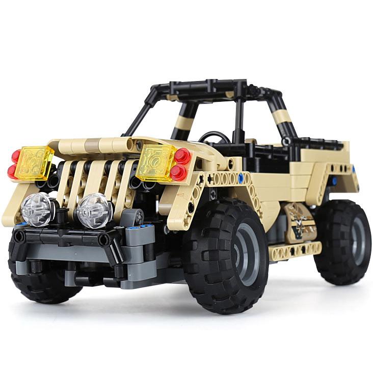Радиоуправляемый Конструктор Военный Джип (487 деталей, 28 см.)