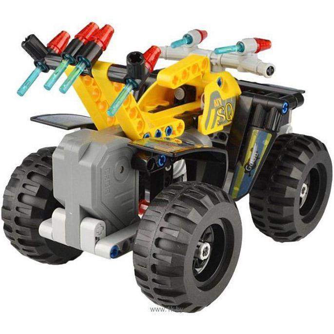 Инерционный Конструктор Квадроцикл ATV Quad (164 деталь, 16 см.) - В интернет-магазине