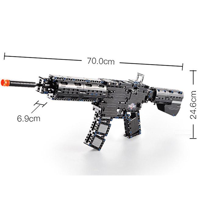 Механический Конструктор Автомат (621 деталь, 73 см.) - В интернет-магазине