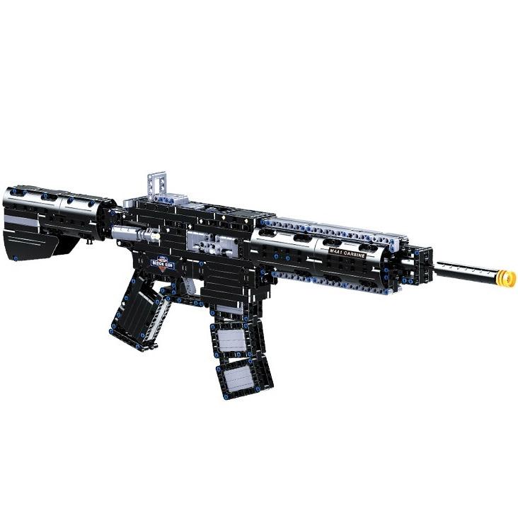 M4A1 Механический Конструктор Автомат (621 деталь, 73 см.)