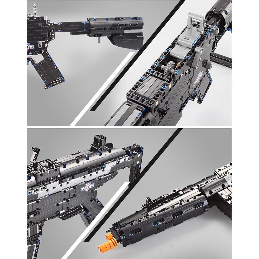 Механический Конструктор Автомат (621 деталь, 73 см.) - Фото