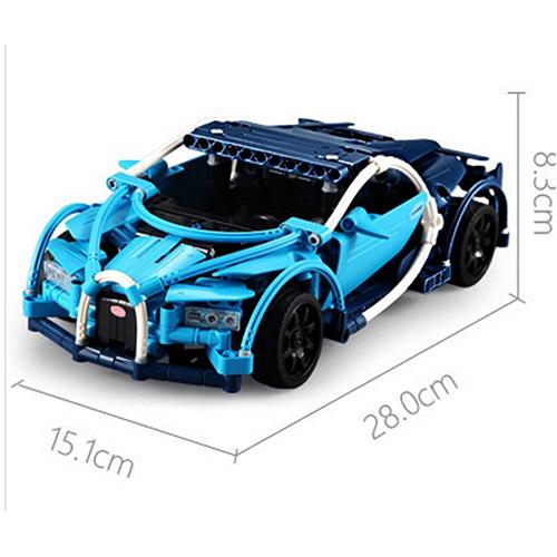 Радиоуправляемый Конструктор Bugatti Veyron (419 деталь, 28 см.)
