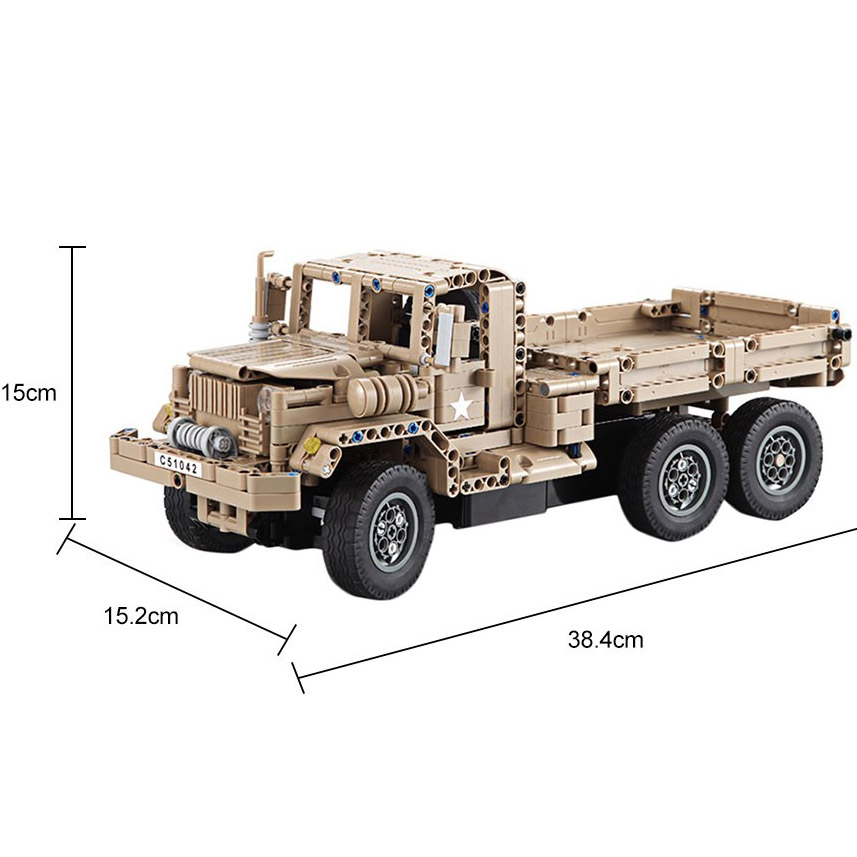 Радиоуправляемый Конструктор Военный грузовик (545 деталей, 38 см.) - В интернет-магазине