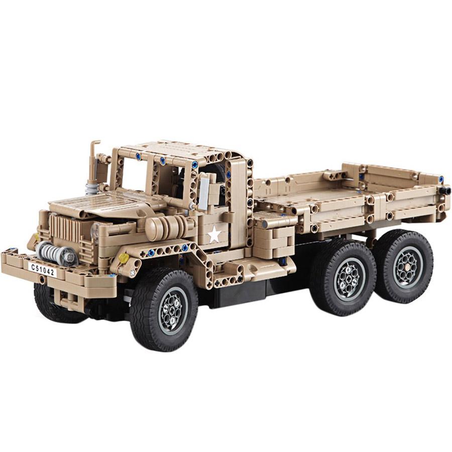 Радиоуправляемый Конструктор Военный грузовик (545 деталей, 38 см.) - Изображение