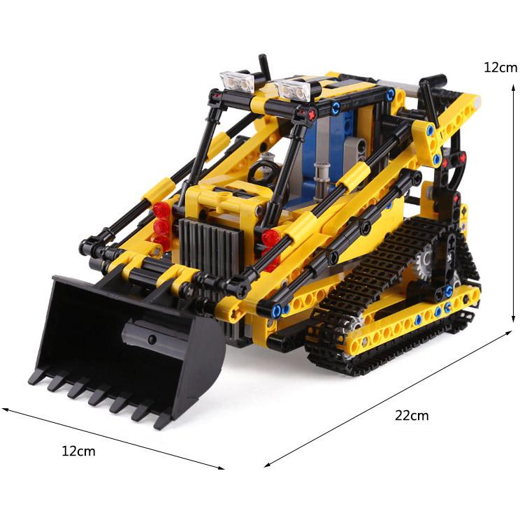 Радиоуправляемый Конструктор Экскаватор-погрузчик (512 деталей, 22 см.)